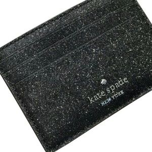 NWT Kate Spade Joeley Black Small Slim Card Holder